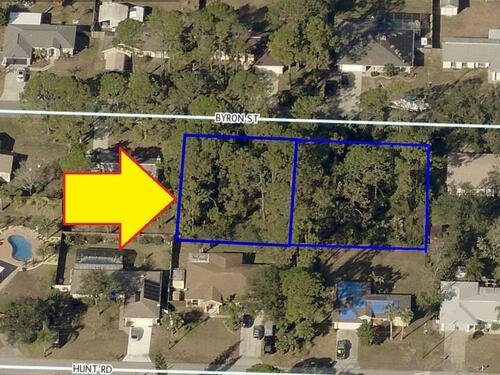 4759-4765 2 Adjacent Lots On Byron Street, Cocoa, FL 32927
