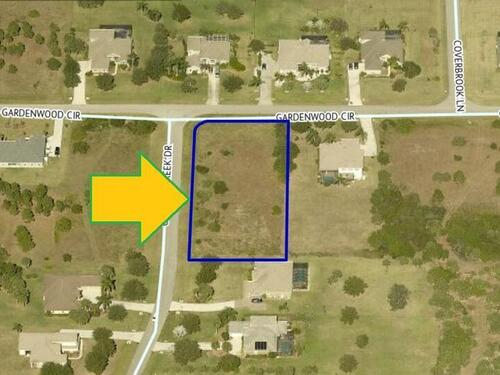 00000 Cypress Creek & Gardenwood Circle, Grant Valkaria, FL 32949