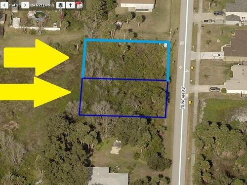 00000 Two Adjacent Lots On Duncan Avenue, Cocoa, FL 32926